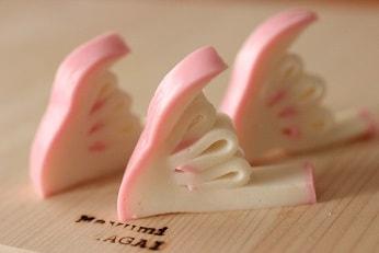 蒲鉾菊水飾り切りレシピ|料理研究家の料理教室 熊谷真由美のラクレムデクレム