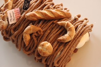 甘栗からつくるモンブラン レシピ|千葉県浦安市の料理教室 熊谷真由美のラクレムデクレム