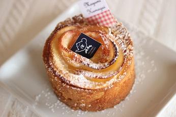 リンゴのタルト タルトアルザシエンヌ|フランス菓子教室 熊谷真由美のラクレムデクレム