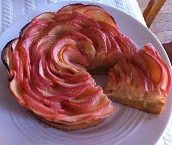 リンゴのタルト タルトアルザシエンヌ|ケーキ教室 熊谷真由美のラクレムデクレム