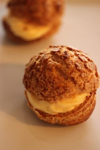 フランス菓子教室|千葉県 失敗しないクッキーシューのレシピ