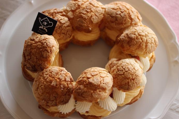 フランス菓子教室|千葉県 苺のパリブレスト