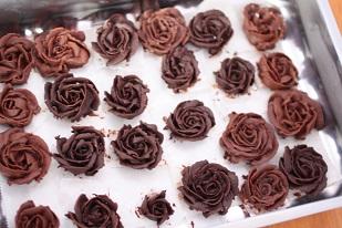 チョコの薔薇