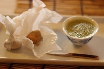 抹茶豆乳ラテ|おもてなし料理教室  料理研究家 熊谷真由美のラクレムデクレム