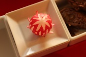 飾り切り鞠|千葉県浦安市の料理教室 熊谷真由美のラクレムデクレム
