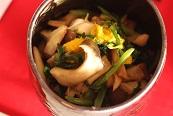 エリンギ菊花和え|千葉県浦安市の料理教室 熊谷真由美のラクレムデクレム