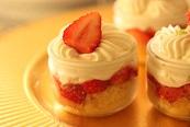 苺のショートケーキ風|千葉県浦安市の料理教室 熊谷真由美のラクレムデクレム