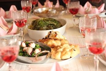 お花見のテーブルコーディネイト|千葉県浦安市の料理教室 熊谷真由美のラクレムデクレム