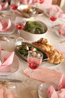 春のテーブル お花見|料理教室 熊谷真由美のラクレムデクレム