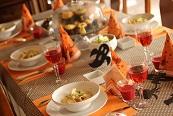 ハロウインのテーブル|料理教室 熊谷真由美のラクレムデクレム