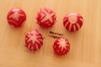 飾り切り ラディッシュ 鞠|千葉県浦安市の料理教室 熊谷真由美のラクレムデクレム