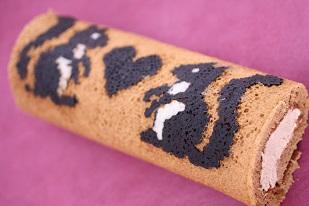 お菓子教室|千葉県 デコロールケーキ 図案