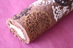 お菓子教室|千葉県 デコロールケーキ レシピ