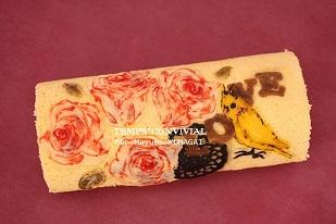 お菓子教室|千葉県 キャラデコロールケーキ 図案