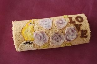 お菓子教室|千葉県キャラ デコロールケーキ 講座