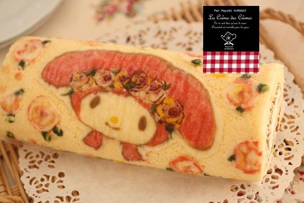 デコロールケーキ 図案|お菓子教室 熊谷真由美のラクレムデクレム