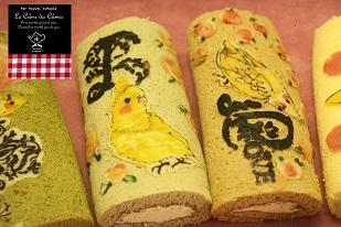 お菓子教室|千葉県 キャラデコロールケーキ レッスン