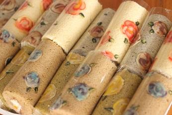 スリムデコロールケーキ スポンジいろいろ|千葉県浦安市の料理教室 熊谷真由美のラクレムデクレム