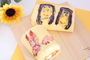 お菓子教室|千葉県現在 デコロールケーキ 講座