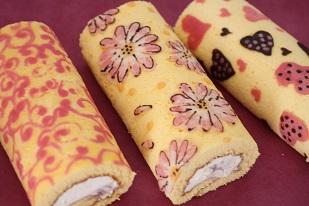 熊谷真由美の 繊細デコロールケーキ