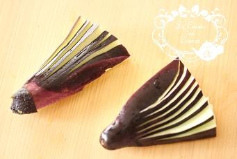 茄子の扇なすの飾り切り |千葉県浦安市の料理教室 熊谷真由美のラクレムデクレム