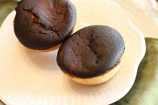 真っ黒焦げのチーズケーキ|お菓子教室