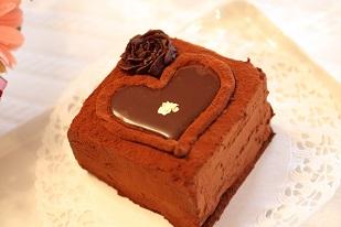 チョコレートケーキ バレンタイン|千葉県のお菓子教室