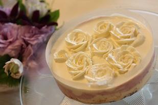 ブルーベリーチーズケーキ|千葉県浦安市のお菓子教室 熊谷真由美のラクレムデクレム