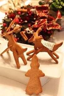 クリスマストナカイ3Dクッキー|千葉県のお菓子教室