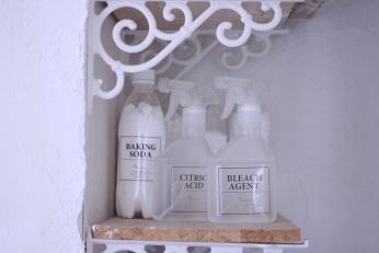 洗剤ボトルのホワイト化|料理研究家のおもてなし料理教室 熊谷真由美のラクレムデクレム