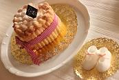 ハートのシャルロットとベビーシューズ|千葉県浦安市の料理教室 熊谷真由美のラクレムデクレム