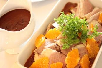 鴨のオレンジソース|千葉県浦安市の料理教室 熊谷真由美のラクレムデクレム