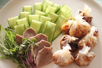 きゅうりの飾り切り|おもてなし料理教室  料理研究家 熊谷真由美のラクレムデクレム