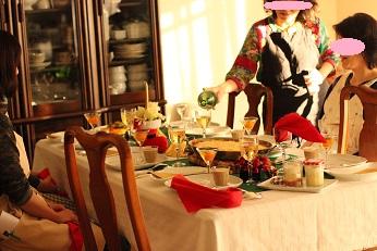 Xmas料理教室の試食タイム|おもてなし料理教室 熊谷真由美のラクレムデクレム