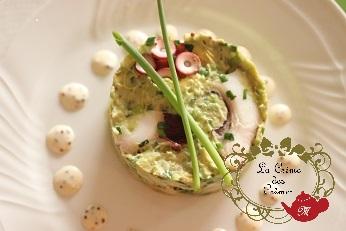 里芋のフレンチ料理|おもてなし料理教室  料理研究家 熊谷真由美のラクレムデクレム