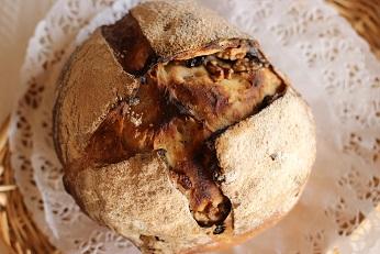 ライ麦のカンパニュのレシピ|こねないパン||千葉県浦安市の料理教室 熊谷真由美のラクレムデクレム