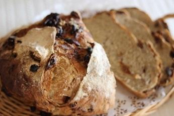 ライ麦とクルミのカンパニュのレシピ|こねないパン||千葉県浦安市の料理教室 熊谷真由美のラクレムデクレム