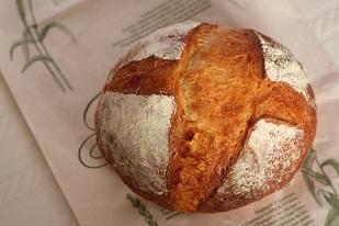 基本のこねないパン  ブール
