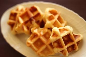 ベルギーワッフルレシピ作り方|お菓子教室個人