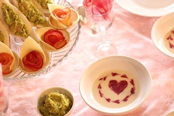 バレンタイン記念日のおもてなし料理教室