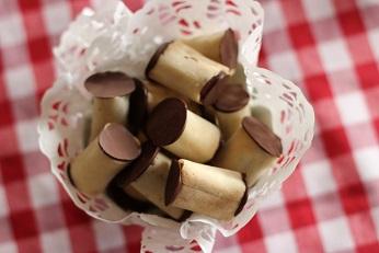 春巻きの皮と餃子の皮でつくるお菓子