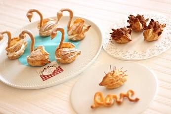 スワンシュー|お菓子教室のレシピ