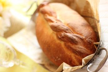 鶏肉のパン包み焼き