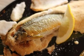 鮎の塩釜焼き|おもてなし料理教室  料理研究家 熊谷真由美のラクレムデクレム