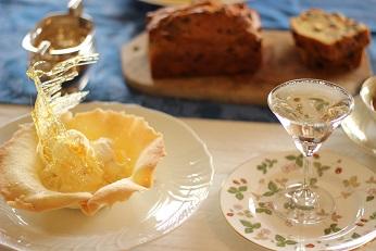 パウンドケーキとタンバルエリゼ