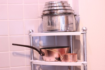 ふだん使いのフランス製銅鍋。|料理研究家のおもてなし料理教室 熊谷真由美のラクレムデクレム