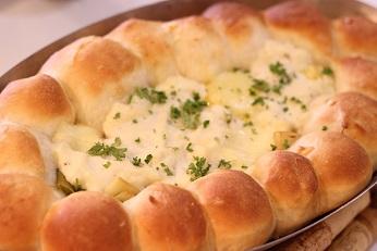 パンのグラタン