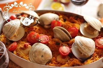 茄子とトマトのフィデウ|料理研究家 熊谷真由美のおもてなし料理教室