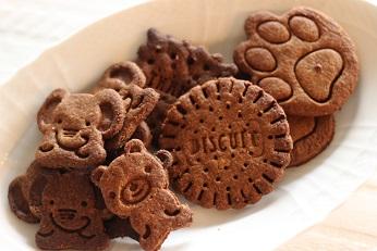グラハムクッキー 100均のクッキー型で焼く