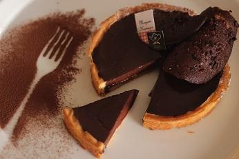 フィリップ コンチーニのタルトショコラ|料理研究家 熊谷真由美のおもてなし料理教室